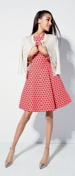 Always darling: Kate Spade dresses.: Kate Spade Outfit, Coral Dress, Summer Dress, Nordstrom, Kate Spade Dress, Color, Cardigan, Dresses, Katespade