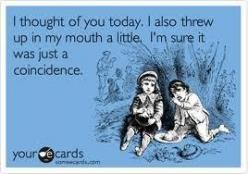 Amazing: Thoughts Of You, Giggle, Funny Stuff, Humor, Funnies, Ecards, Coincidence, E Cards