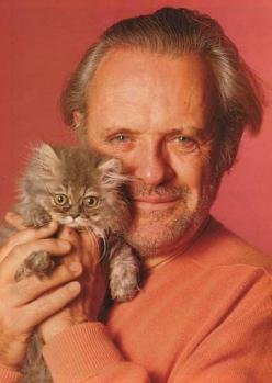 Anthony Hopkins: Cats, Kitten, Famous People, Pet, Anthony Hopkins, Animal, Sir Anthony