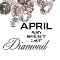 April Birthstone and Flower   Also those born in this month represent two wonderful zodiac signs.: Avril Aprile, Birthstones 5 Sets, April S Birthstone, Aries April 19Th, Birthstonepage04 April Jpg, April Birthstone, Birthday April
