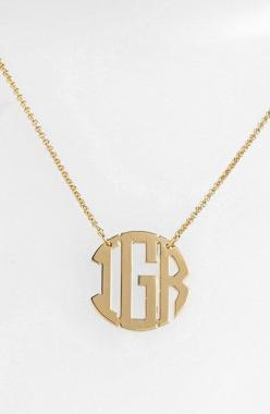 Argento Vivo Personalized 3-Initial Block Monogram Necklace (Nordstrom Online Exclusive) available at #Nordstrom: 3 Initial Block, Online Exclusive, Block Monogram, Necklace Nordstrom, Nordstrom Online, Gift Ideas, Quicksilver, Monogram Necklace, Vivo Per