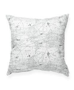 Aviation Pattern Decorative Throw Pillow: Patterns, Aviation Pattern, Travel Pillows, Decorative Throw Pillows, Decor Pillows, Aviation Pillow