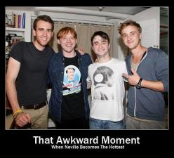awkward? more like awesome: Awkward Moments, Stuff, Harrypotter, Funny, So True, Harry Potter, Things, Neville