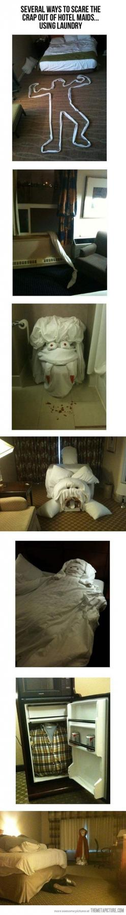 Before leaving your hotel room…: Bucket List, Giggle, Funny Stuff, Scare Hotel, Hotels
