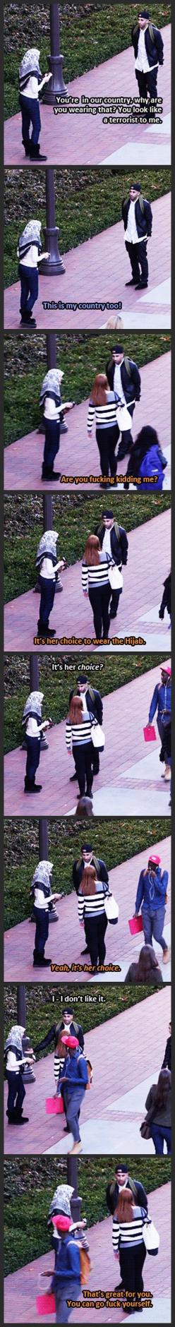 BEST THING EVER!!!: Guy, Faith In Humanity Restored, Social Experiment, Faith Restored, Stand Up, Muslim Women