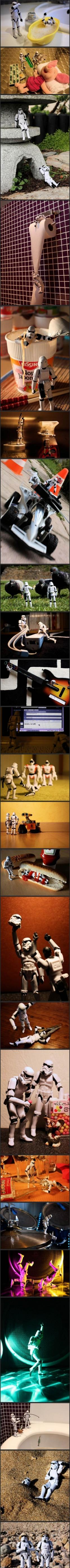 Busy Day for the StromTroopers: Storm Troopers, Life, Stuff, Funny, Star Wars, Stormtroopers, Storms, Starwars