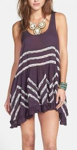 Cute dresses for Spring: Boho Chic, Tunic Dresses, Summer Dress, Fashion Style, Cute Dresses, People Lace, Free People, Lace Trim
