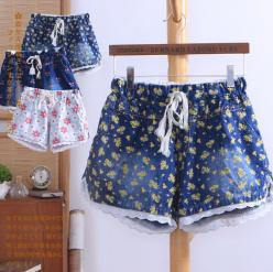 "Cute flowers printed lace shorts Cute Kawaii Harajuku Fashion Clothing & Accessories Website. Sponsorship Review & Affiliate Program opening!so fashionable and sweet, use this coupon code ""Fanniehuang"" to get all 10% off: Womens Fashion, S"