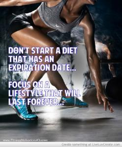 Don't start a diet that has an expiration date... focus on a lifestyle that will last forever!  Come get your fitness on at Powerhouse Gym in West Bloomfield, MI!  Just call (248) 539-3370 or visit our website powerhousegym.com/welcome-west-bloomfield