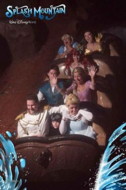 Dorkiest family ever. You go to disney together and all dress up to ride Splash Mountain. Love it.: