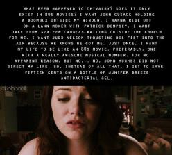 Easy A. Ah I wish that too. @Ryanne May May Prochnow this is what I was talking about!: Easy A, Emma Stone, 80 S Movie, My Life, Easya, Movie Quotes, Favorite Quotes, Favorite Movie, 80S Movies