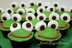 easy frog cupcakes: Frog Cupcakes, Birthday, Froggy Cupcake, Food, Cupcake Ideas, Cup Cake, Frogs, Party Ideas, Kid