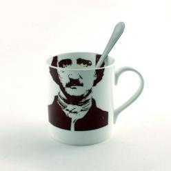 Edgard Allan Poe Mug Bone China Tea or Coffee by MoreThanPorcelain, €22.00.....I love this!: Teacups Mugs, Mugs Coffee Tea, Allan Poe, Bone China, China Tea, Coffeemugs Teasets, Mugs Teacups, Coffee Mugs