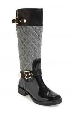 Equestrian rain boots are trending this season.: Rainboot, Boots Women, Rain Boots, Posh Wellies, Quilted Tall, Christmas Gift, Tall Rain, Wellies Peacon