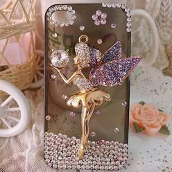 Fairy bling phone case. Bit much for me, but its cute.: Iphone Cases, Iphone 5S, Iphone 4 Cases, Iphone 5 Cases