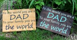 Fathers Day Sign: Personalised Gifts, Gifts Ideas, Gift Ideas, Crafty Creations, Fathers Day, Father'S Day, Pallet Signs, Craft Ideas