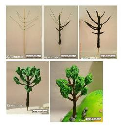 fondant wired tree  http://www.kuharka.ru/recipes/decoration/tree/10812.html: Cakes Tutorials, Gumpaste Trees, Gumpaste Tutorials, Cake Ideas, Fondant Tree, Cake Tutorials, Cake Decorating