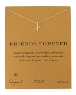 Friends+Forever+Gold-Dipped+Pendant+Necklace+by+Dogeared+at+Neiman+Marcus.: Gift Ideas, Book Betas, Betas Gifts, Bestie Board