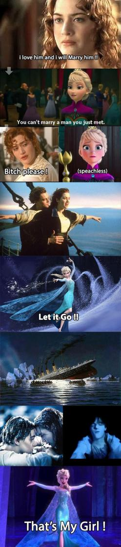 Funny Pictures Of The Day - 91 Pics: Funny Pictures, Funnypictures, Humor, So Funny, Frozen Titanic, Disney