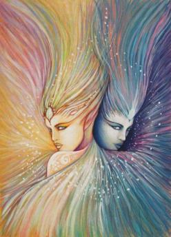 Gemini - Their duality can show in many ways. Gemini Rising can appear differently to different people, both physically and intellectually. They also have a habit of saying what they think others want to hear. When they admire someone, they tend to mimic