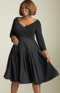 Google Image Result for http://www.thefinishingbar.com/blog/wp-content/uploads/2012/08/29.jpg: Plussize, More Dress Sizes, Size Black, Size Fashion, Cocktail Dresses, Black Dress