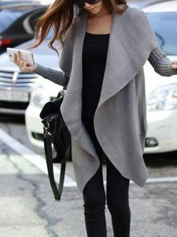 Gray outwear: Style, Outfit, Comfy Sweater, Gray Sweater, Oversized Sweaters, Fall Winter
