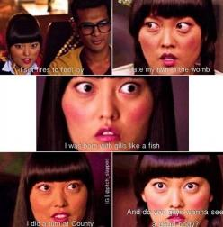 hahaha the quiet one from pitch perfect: Pitch Perfect Lilly, Pitch Perfect Haha, Lily Hana, Favorite Character, Movies Shows, Pitch Perfect Funny, So Funny, Pitchperfect
