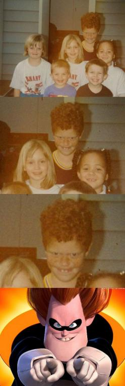 He Made A Career Out Of It: Face Swap, Funny Face, Photo Bombs, Funny Photobomb, Funny Kids, Ginger Photobomb
