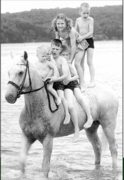 Horse abuser !: Animals, Bound Horse, Horses 3, Book, Fairytale Style, Snowman Horse, Family Photo, Kid