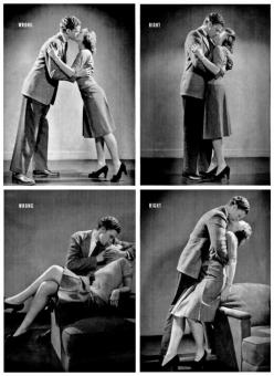 How to kiss properly - 1942 Life Magazine: Interesting Things, Funny Random Quotes, Random Funny Things, Random Awesome Things, Random Things, Kisses Funny, Funny Love Notes