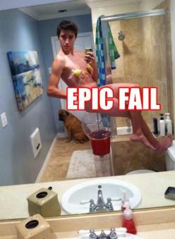 I'm still trying to figure out why he has lemons taped to his nipples and is sitting on a gum ball machine...his dog is like, get me out of here lol: Selfie, Epic Fail, Dogs, Funny Pictures, Funny Humor, Poor Dog, Funnies, Funny Gif