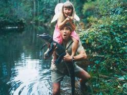 I don't care what people say, this guy was a legend and always one of my heroes. <3: Picture, Bindi Irwin, Steve Irwin, Daughter, Steveirwin, Beautiful People, Photo, Animal