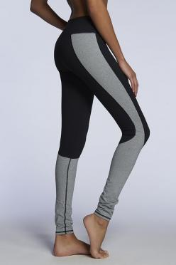 I think I like gray workout legging more than black, but I love this color blocking of them both.: Sydney Legging, Color Blocking, Athletic Leggings, Fitness, Active Wear Leggings, Workout Leggings, Gray Workout