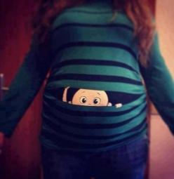 I totally want to get this for my next pregnant friend!!!: Ideas, Babies, Shirts, Pregnancy, Funny, Peek A Boo, Baby Stuff
