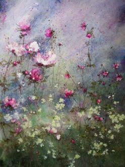 Laurence Amélie: Idea, Art Floral, Artist Laurence Amelie, Art Flowers, Paintings, Art Painting, Garden