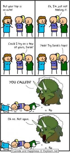 Like this isn't even that funny but it's so funny and the same time so funny: Cyanide, Dinosaur, Funny Stuff, Humor, Happiness, Sarah S Tops