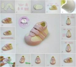 little shoe https://www.facebook.com/pages/G%C3%B6n%C3%BClce-Kurabiye-Cupcake/242439092551867?ref_type=bookmark: Babies, Cakes, Fondant Tutorials, Porcelain Cold, Baby Shoes Tutorial, Cake Decorating, Cake Toppers, Baby Shower