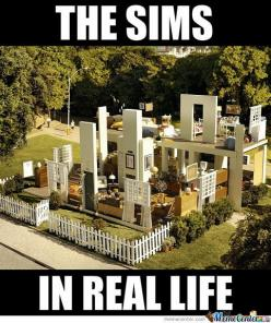 LOL I am laughing so so so so so hard right now: Real Life, Awesome, Funny, Humor, House, The Sims