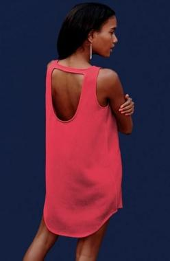 Love the back of this hot pink cut-out dress.: Summer Dresses, Cutout, Fashion, Color, Outfit, Cut Out, Bb Dakota, Pink Dress