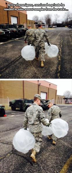 Ludicrous photos of the hour (12:11:19 PM PST Sunday, February 8, 2015) – 20 pics: Army Pranks, Army Funny, Ahahaha, Funny Pictures, Funny Stuff, Funnies, 51 Funny
