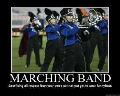 Marching Band: Music, Funny Hats, Band Thing, Marching Band, Band Geek, Band Nerd, Band Jokes, Band Life, Marching Bands