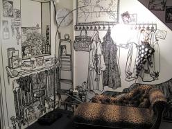Marker-drawn Murals by Charlotte Mann | Just Imagine – Daily Dose of Creativity: Wall Drawing, Ideas, Inspiration, Art, Google Search, Murals, Charlotte Man