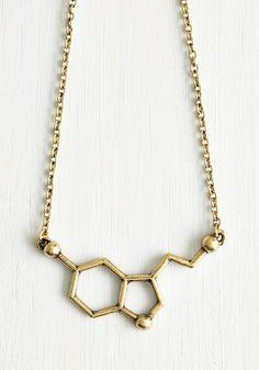 Modcloth Neurotransmit Your Love Necklace Found on my new favorite app Dote Shopping #DoteApp #Shopping