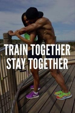 My fitness motivation page is dedicated to inspire anyone that likes fitness and wants to achieve a #fit and #healthy body.: Stay, Fit Couple, Quote, Fitness Inspiration, Fitness Motivation, Health, Trains, Workout