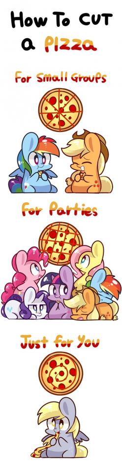 My Little Brony - Page 3 - Friendship is Magic - my little pony, friendship is magic, brony - Cheezburger: Mlp Fim, Pony Pizza, Pony ️, Mlp Funny, Ponies, My Little Pony, Cutting Pizza, Mlp Pizza