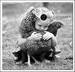 Never get between a girl and her chicken. :): Chicken Hug, Chicken Lover, Girl, Chicken Or, Chicken Coops, Chick Chick, Cluck, Catching Chickens