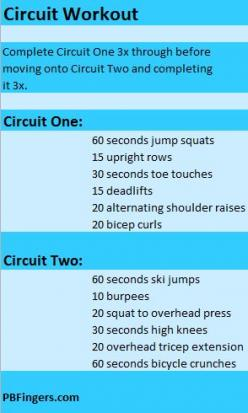 Not entirely bodyweight, but the weight stuff can be easily done with water jugs and/or bands: Circuit Workouts, Fitness, Circuit Exercises, Exercise Workout, Minute Circuit, Workout Pins, Workout Exercises, Interval Training