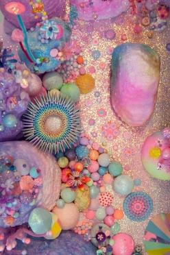 Not sure what this is about but take from it what you will, I guess!: Cosmic Dust, Inspiration, Bright Colour, Colors, Pastel Pink, Art, Seapunk, Bright Pastel