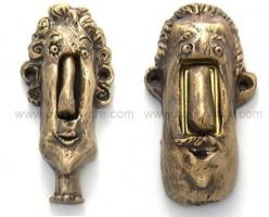 Oh my gosh, now I need a doorbell just so I can get one of these.: Face Doorbells, Doorbell Buttons, Doorbells Buttons, Funny Doorbells, Door Knobs, Funky Doorbells, Crazy Doorbells, Doorbells These