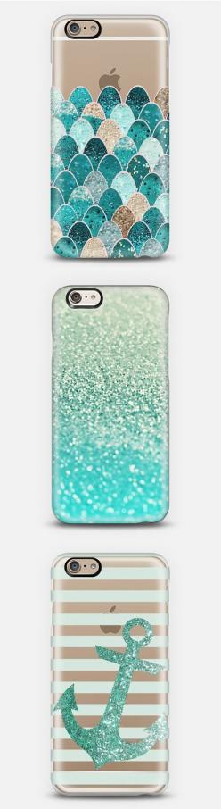 Ok, now this might be expensive, but these are the most ADORABLE cases for the iPhone 6+ I have seen so far!: Iphone 6 Case, Phone Cases Iphone 6, Glitter Iphone Case, Anchor Phone Case, Glitter Phone Case, Iphone Cases 6